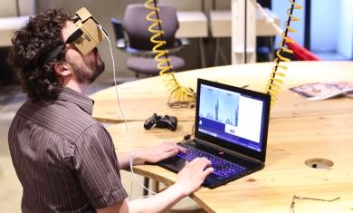 Minecraft auf Google Cardboard spielen